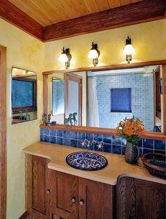 southwest bathroom decor - Google Search