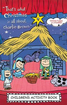 What Is Christmas, Christmas Books, A Christmas Story, Kids Christmas, Christmas Images, Peanuts Christmas, Charlie Brown Christmas, Kids Activity Books, Book Activities