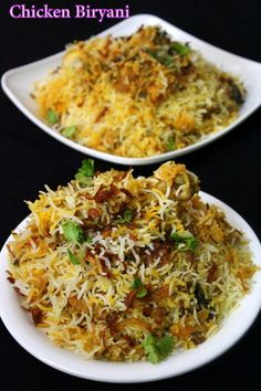 chicken biryani recipe, how to make biryani – Yummy Indian Kitchen Chicken biryani recipe is shared along with step by step details and a video procedure. This is a special eid recipe made for all those celebrating eid… Indian Food Recipes, Asian Recipes, Eid Recipes, Easy Ramadan Recipes, Ramadan Special Recipes, Recipies, Biryani Chicken, Chicken Biryani Recipe Indian, Easy Chicken Biryani Recipe