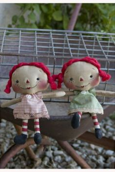raggedy old annies