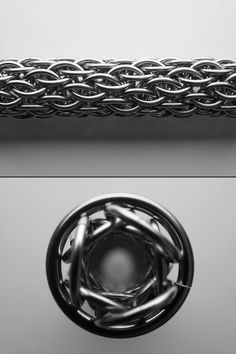 CHAINMAILLE TUTORIALS AND KITS BY JOSHUA DILIBERTO - Pencil Weave