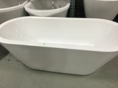 Love these luxury Ove tubs. Available now at the Riverside ReStore.