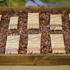 Who tried the yummy @ethicoco at Graze this year? #grazefestival #ethicoco #natural #vegan #chocolate