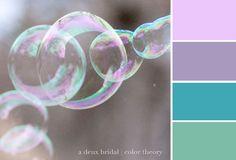 Risultati immagini per bubble colors palette