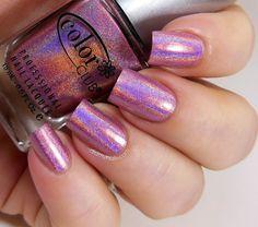Color Club Miss Bliss ~ pinkpolish holographicpolish