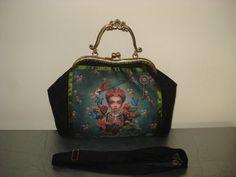 Bolso de mano Frida Kahlo por ComplementosMolero en Etsy