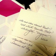 1000 Images About My Envelopes On Pinterest Writing