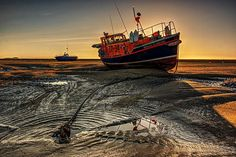 Boat at Wells courtesy of Simon Grey.