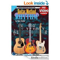 Rhythm Guitar Lessons for Beginners: Teach Yourself How to Play Guitar (Free Video Available) (Progressive Guitar Method) Guitar Lessons For Beginners, Gardening Books, Guitar Tips, I Love Reading, Historical Fiction, Playing Guitar, Memoirs, Kindle, Brain