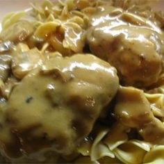 Scrumptious Salisbury Steak in Mushroom Gravy - Allrecipes.com