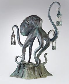 This Walktopus would make a grand addition to the front library, don't you think?