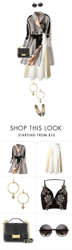 """eva1463"" by evava-c ❤ liked on Polyvore featuring Proenza Schouler, Versace, River Island and Ghibli"