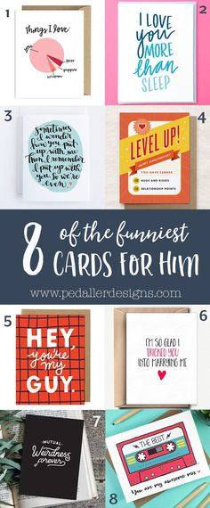 We've checked out all the best handmade shops and rounded up the best funny card ideas to send to your boyfriend or husband on your next anniversary. Some of the funniest sayings and unique designs anywhere! Click through to find them all >>