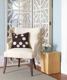 Transform a Room With Decorative Screens Add function and flair by putting room dividers to work in unexpected ways.