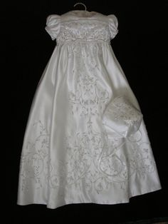 Alyssa's Custom Christening or Baptism Gown made by BertasBoutique