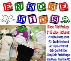 Enkore Kids Cloth Diapers Giveaway - gorgeous cloth diapers and so many to choose from! Why not just get them all!
