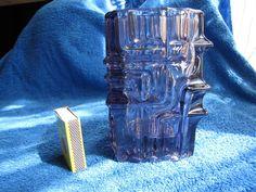 Czech Art glass Vase Vladislav Urban textured Vase #VladislavUrban