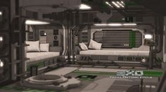 sci-fi bedroom maya - Google Search