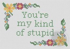 Firefly You're My Kind of Stupid quote Printable by pixystitches, $3.50