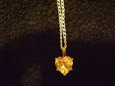 Heart of Gold by AdornedYou on Etsy, $50.00