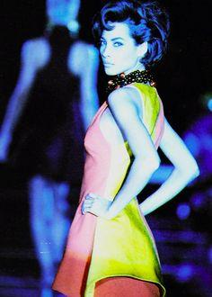 Christy Turlington, Versace Fall 1991