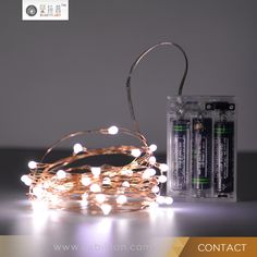 3XAA Battery Operated Remote Control Copper Wire LED submersible