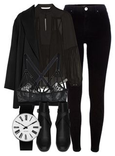 Untitled #6701 by laurenmboot on Polyvore featuring Diane Von Furstenberg, Agnona, River Island, Lonely, Yves Saint Laurent and Rosendahl