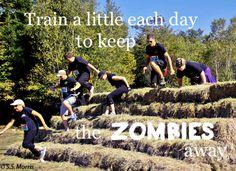 5 km Zombie Trail Run,  McDonald's Sports Park Waverley, Nova Scotia  Supporting Inner Strength Taekwondo in Wellington Nova Scotia