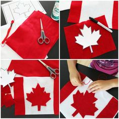 Make a Canada flag pillow for your Maplelea Girl. Canada Day Fireworks, Canada Day Crafts, Remembrance Day Activities, Canada Day Party, Easy Art For Kids, Little Passports, Happy Canada Day, Crafts For Seniors, Thinking Day