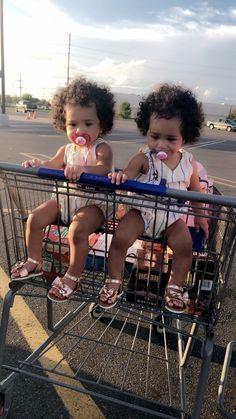 Aww, I have twins Cute Mixed Babies, Cute Black Babies, Black Baby Girls, Beautiful Black Babies, Cute Baby Girl, Beautiful Children, Cute Babies, Baby Kids, Twin Girls