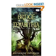 A newbery medal-winning novel by bestselling author Katherine Paterson is a modern classic of friendship and loss. A gift idea for book lovers./bridge-to-terabithia Brücke Nach Terabithia, Bridge To Terabithia, Katherine Paterson, Books To Read, My Books, Books For Tweens, Tween Books, Newbery Medal, Thing 1