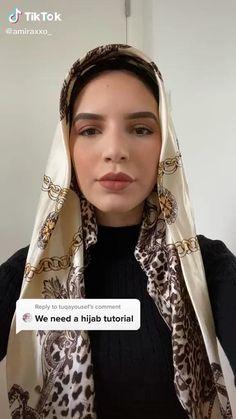 Stylish Hijab, Casual Hijab Outfit, Hijab Dress, Hijab Turban Style, Mode Turban, Hair Wrap Scarf, Hair Scarf Styles, Street Hijab Fashion, Muslim Fashion
