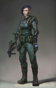 Future Girl Soldier