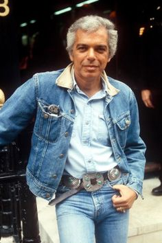 Ralph Lauren — We can't possibly leave out the man whose name is synonymous with classic all-American style. Denim on denim on denim? He did it best, and men and women alike embraced his effortless and preppy influence on the fashion world.    Photo: RICHARD YOUNG/Rex USA