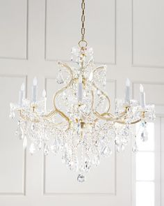 Maria+Theresa+9-Light+Clear+Crystal+Chandelier++at+Horchow.