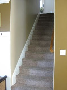 Baseboard On Stair Stringers In 2019 Home Ideas
