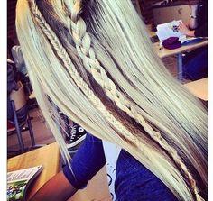 Side Braids Via hairstyleshowto.com