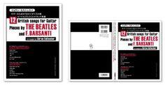 ビートルズ・セルシェル・ギター・楽譜の表紙デザイン