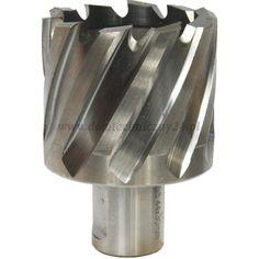 Wiertła trepanacyjne zwane również wiertłami koronowymi i frezami trepanacyjnymi umożliwiają wiercenie otworów w pełnym materiale (stali), bez konieczności nawiercania. Wykonane są ze stali szybkotnącej HSS. Wykonywane wiertłem otwory nie wymagają gratowania, a gładkością i precyzją wykonania bliższe są rozwiązaniu frezowania.