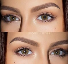 Loving these natural and full brows!   latest eyebrow makeup best eyebrow shape how to have perfect eyebrows perfect brows makeup