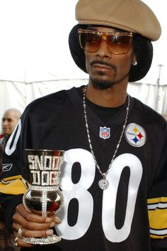Snoop Dogg Loves the Steelers and Youth Football Pitsburgh Steelers, Here We Go Steelers, Steelers Images, Youth Football, Nfl Football, Football Season, Pittsburgh Sports, Pittsburgh City, Steeler Nation