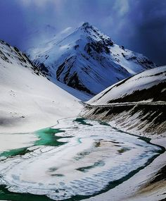 Suraj Tal Lake Enroute Manali-Leh Himachal Pradesh . Photo By- @ichandanbhatia (Chandan Bhatia) #Follow  In the midst of natural splendor and beauty lies Suraj Tal at a height of 4950 meters. The name of the lake means Lake of the Sun God. Ranked as one of the highest lakes in India Suraj Tal lies just below the Bara-Lacha-la pass in the magnificent valley of Lahual and Spiti. This lake is the source of Bhaga River which further joins Chandra River and enters Jammu & Kashmir where it is…