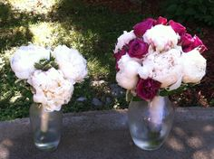 Bridal bouquet and bridesmaid bouquet featuring  created by Lexington Floral in Shoreview, MN.    #flowers #bride #wedding