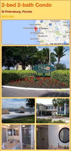 2-bed 2-bath Condo in St Petersburg, Florida ►$285,000 #PropertyForSale #RealEstate #Florida http://florida-magic.com/properties/75788-condo-for-sale-in-st-petersburg-florida-with-2-bedroom-2-bathroom