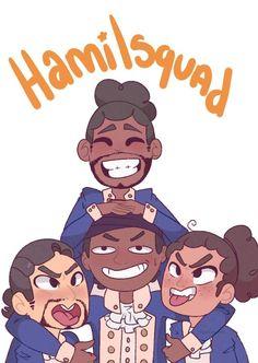 This was my first hamilton fanart I did ✨ I did that draw my squad meme c: