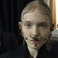 """The look backstage @givenchyofficial by @patmcgrathreal #PFW #givenchy"" Photo taken by @dazedmagazine on Instagram, pinned via the InstaPin iOS App! http://www.instapinapp.com (03/08/2015)"
