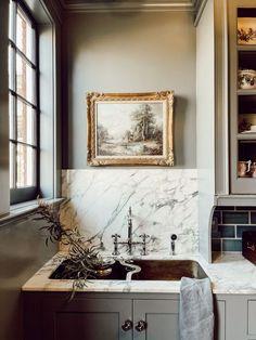Home Design, Küchen Design, Country Look, Classic Kitchen, Style Deco, Interior Decorating, Interior Design, Decorating Blogs, Cozy House