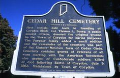 Cedar Hill Cemetery This is the location of Alastor's final resting place and the setting for a few scenes in Spiritus. The cemetery is home to the graves of soldiers and veterans of all wars. Paranormal Romance, Romance Novels, Ghost Hauntings, Cedar Hill, Spiritus, Revenge, Cemetery, Soldiers, Indiana