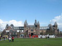 The Rijksmuseum  ÁMSTERDAN    -   Paises Bajos