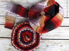Снуд Полум'яний / Snood Flaming | Life Like Knitting Workshop